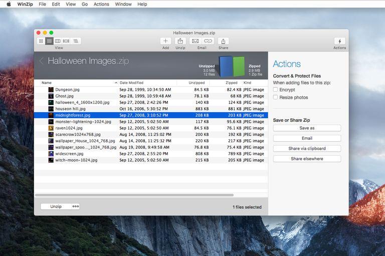 WinZip 5 Mac