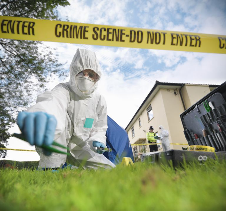 CSI at Meth Lab