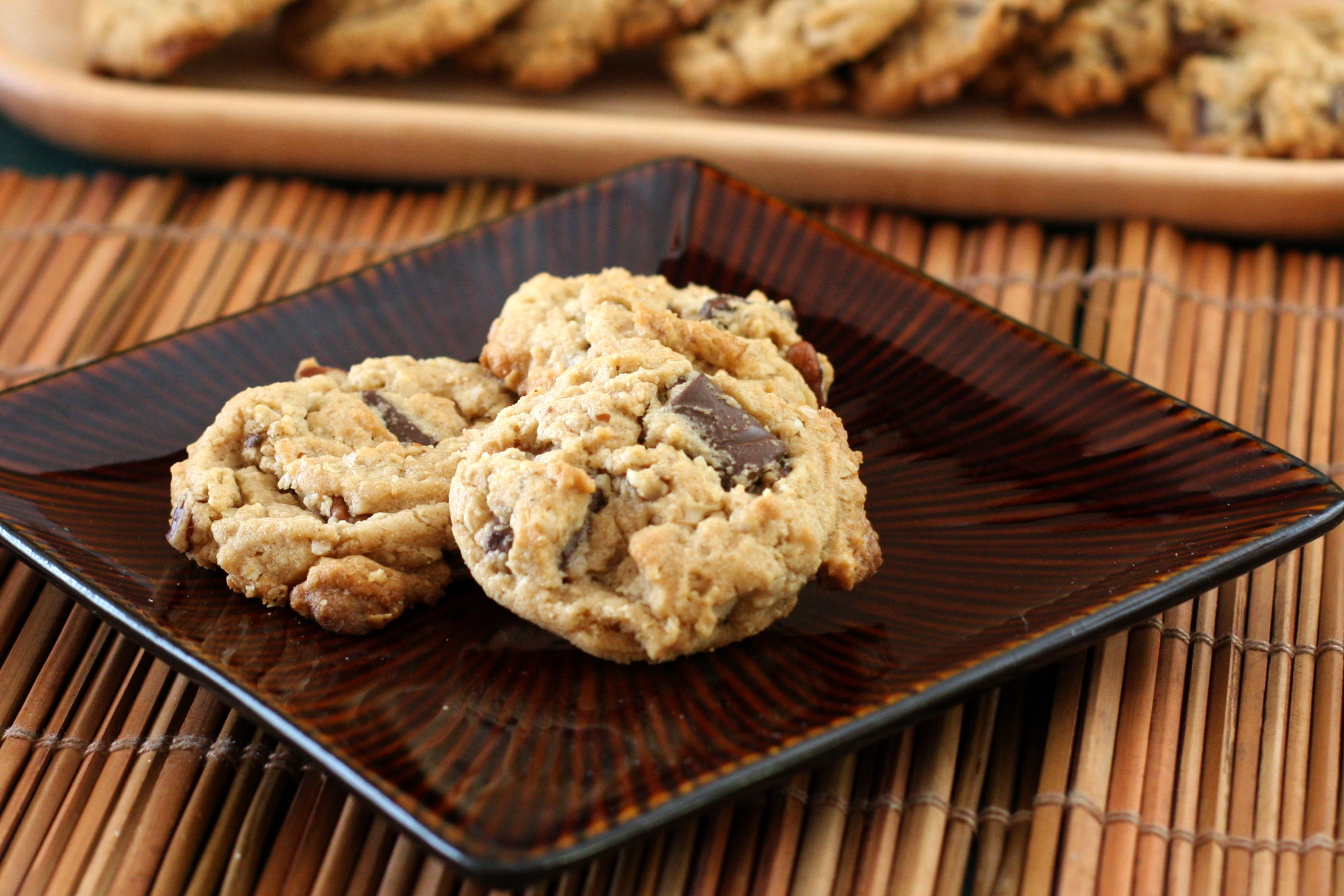 Oatmeal Chocolate Chip Cowboy Cookies Recipe