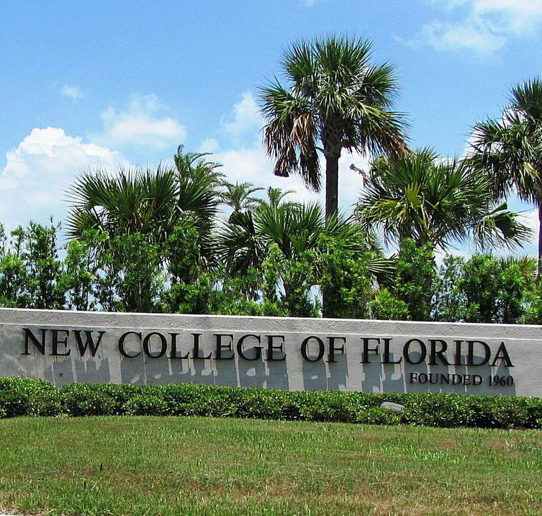 New College of Florida Sign