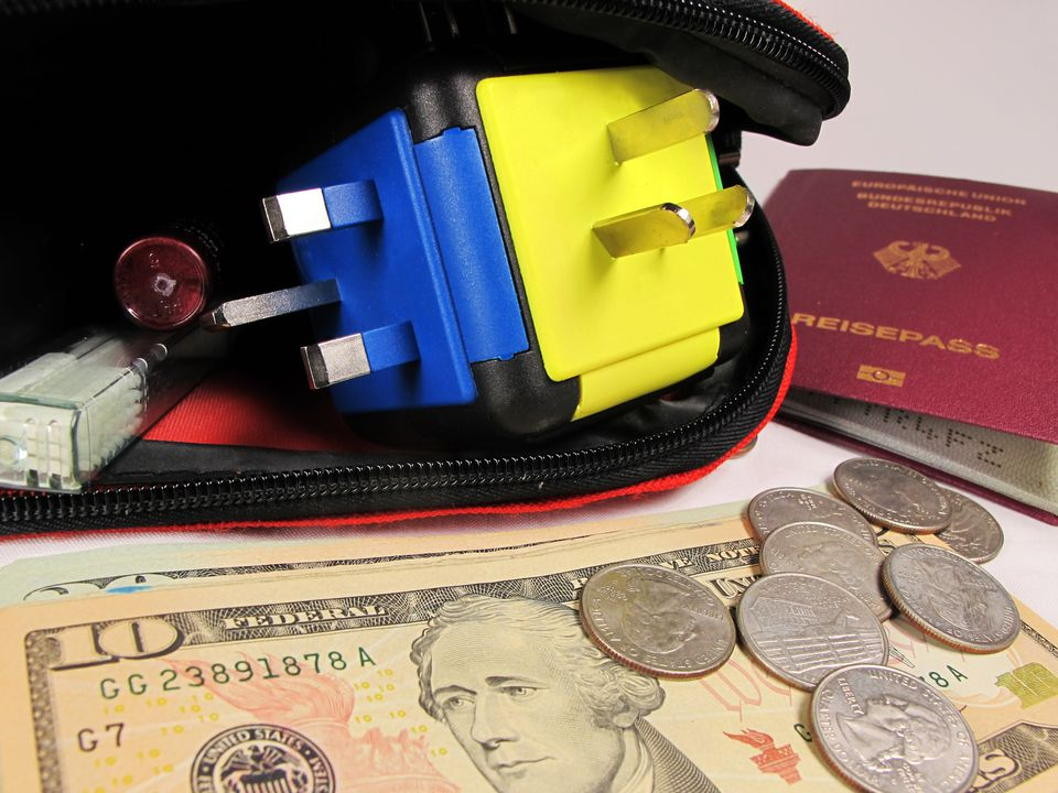 Money and Travel Adapter