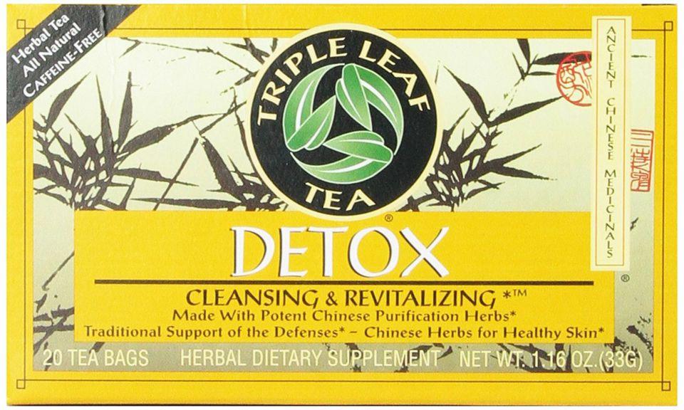 Triple Leaf Detox Teabags