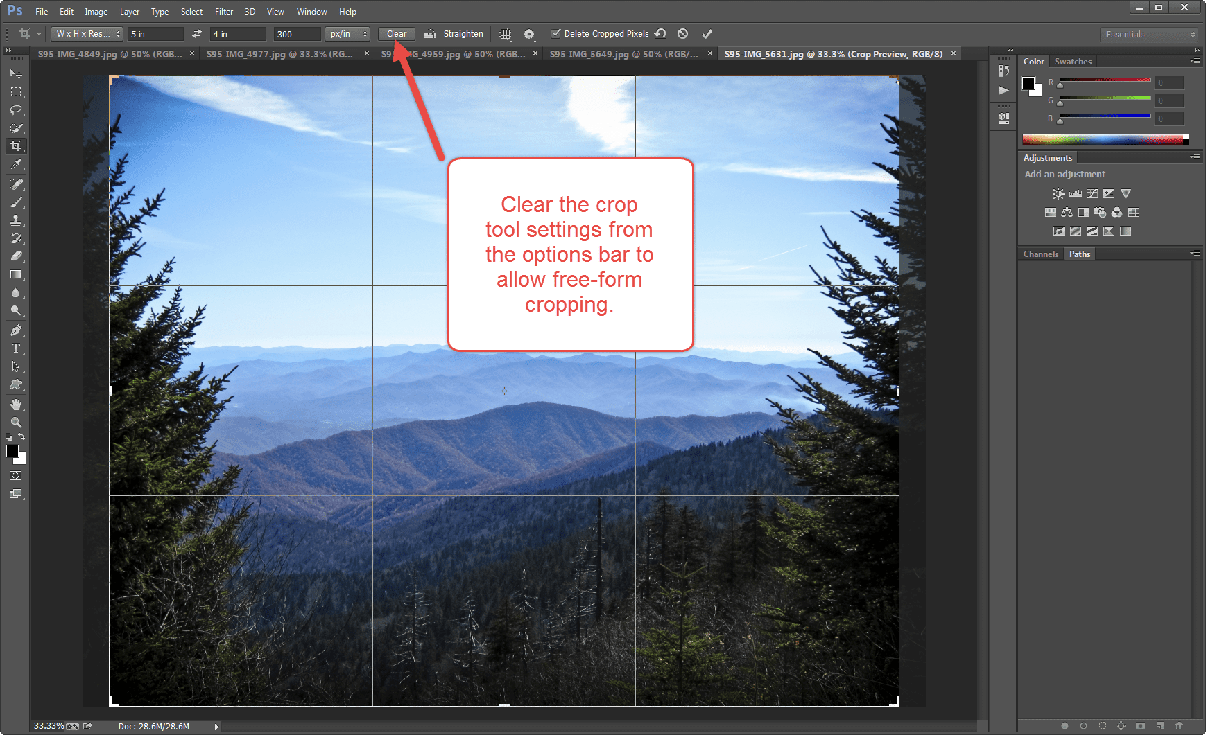 Cropping to an exact size in Photoshop, ultimate Photoshop crop t…