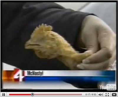 does kfc serve mutant chickens