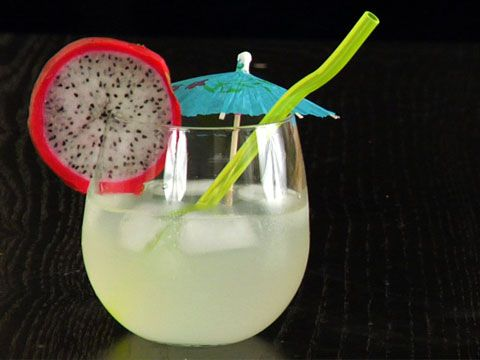 Dragonfruit Martini Drink Recipe
