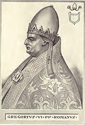 Pope Gregory VI from The Lives and Times of the Popes, Volume 3