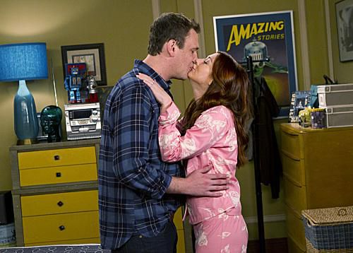 """Noretta"" -- Marshall (Jason Segel) and Lily (Alyson Hannigan) realize they remind each other of their parents, on HOW I MET YOUR MOTHER, Monday, Oct. 24 (8:00-8:300 PM, ET/PT) on the CBS Television Network."