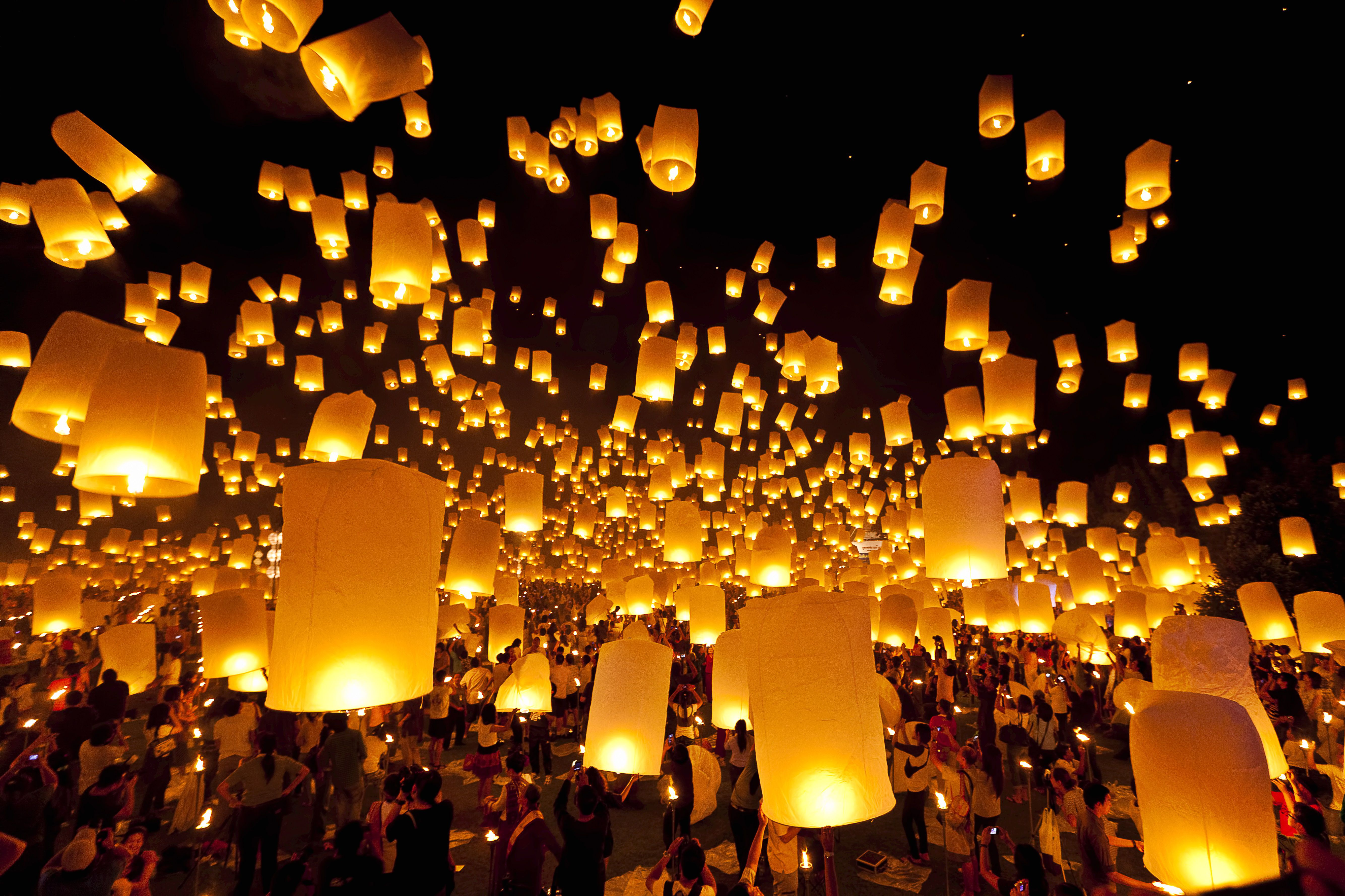 Chinese New Year Lantern Wishes for Flying Lantern Lights  181plt