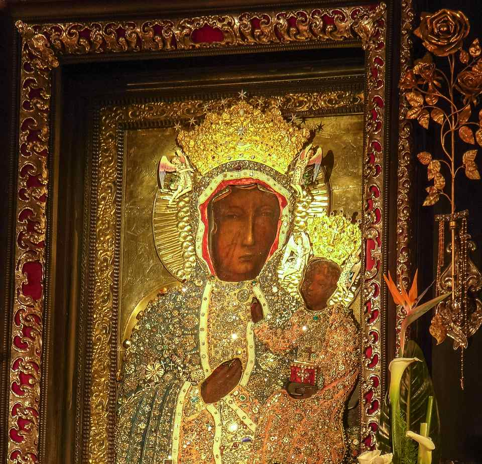 Black Madonna of Czestochowa, Poland