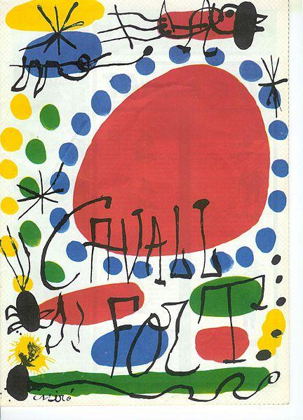 Joan Miro, abstracto