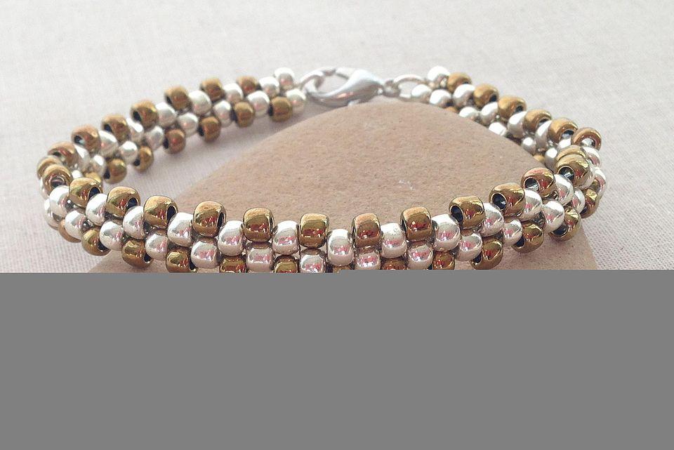 Brick Stitch Bead bracelet