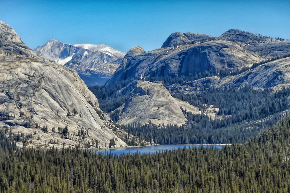 Mountains Near Tioga Pass