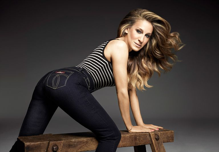 Sarah Jessica Parker in sexy Jordache Jeans