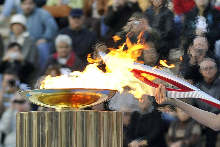 2014 Olympic torch