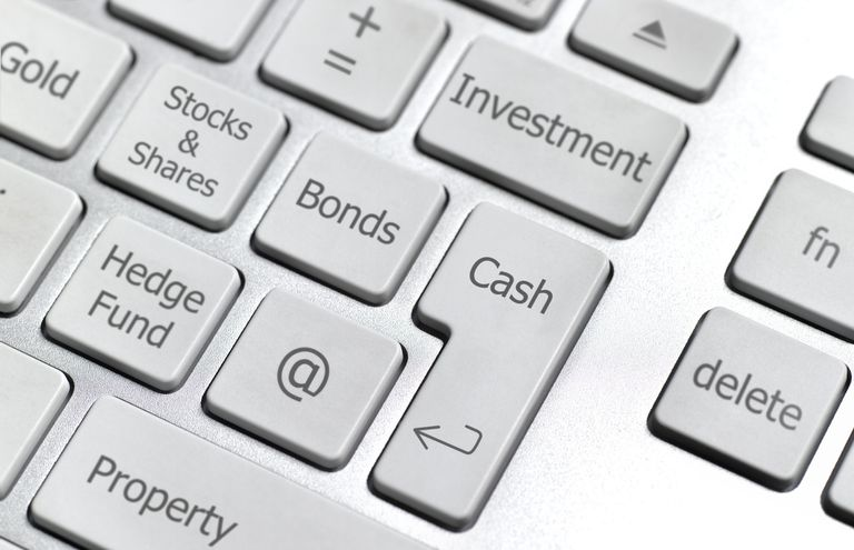Online investment keyboard