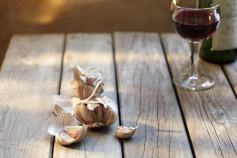Garlic-Wine Pheasant Marinade