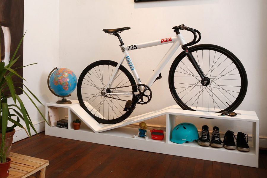 Bike Rack Furniture Is Perfect For Tiny Apartments And