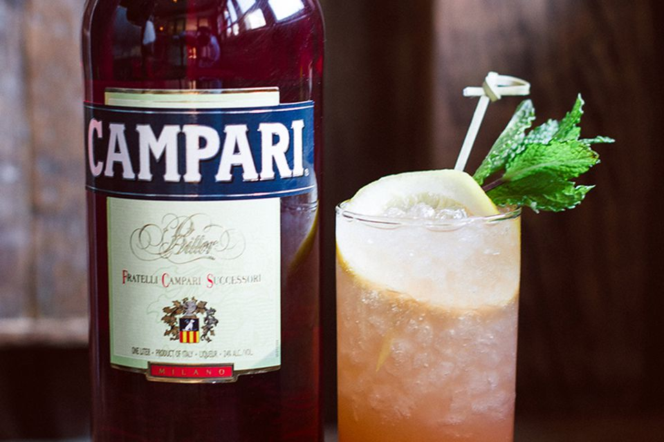 Campari Celebration of Citrus Cocktail
