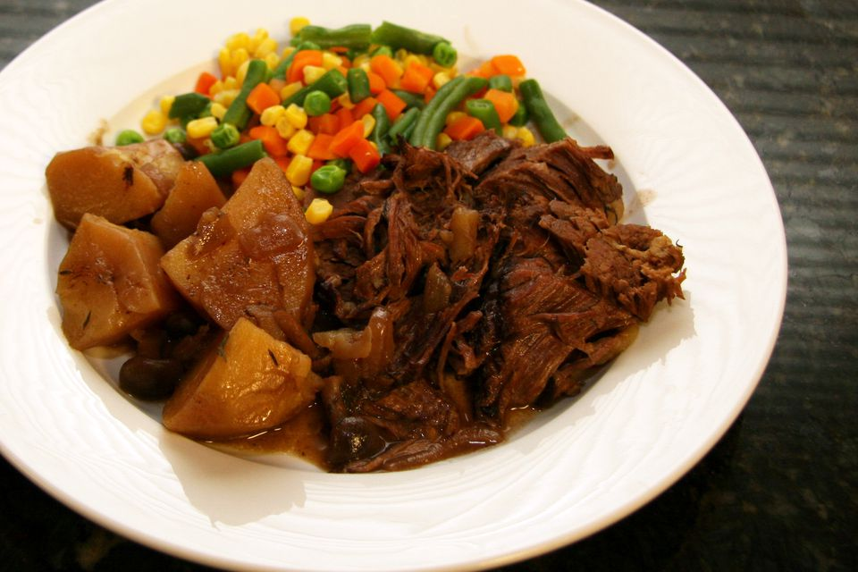 Pot Roast With Garlic and Thyme