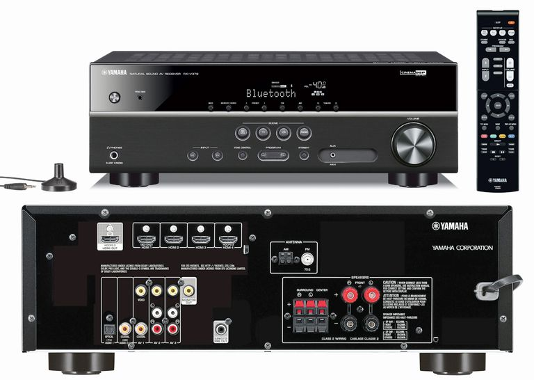 Yamaha RX-V379 Home Theater Receiver