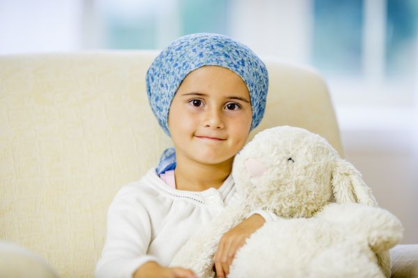 Little Girl with Leukemia