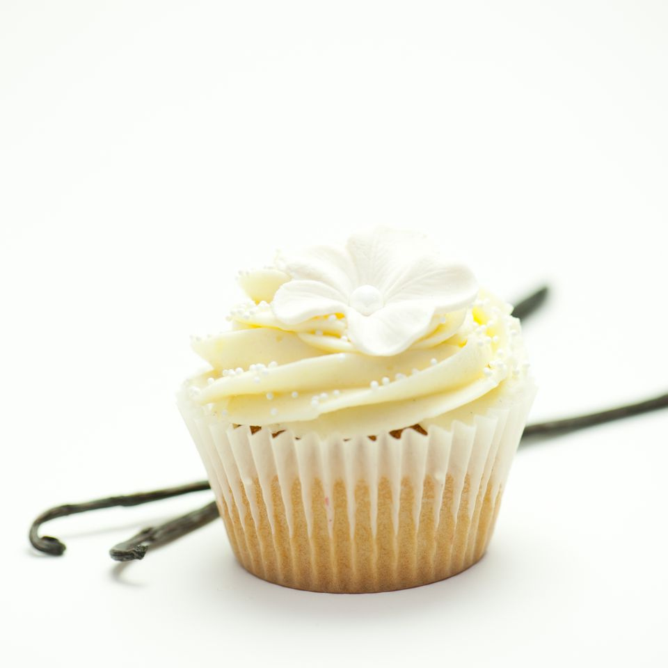 Vanilla Frosting and Cupcake