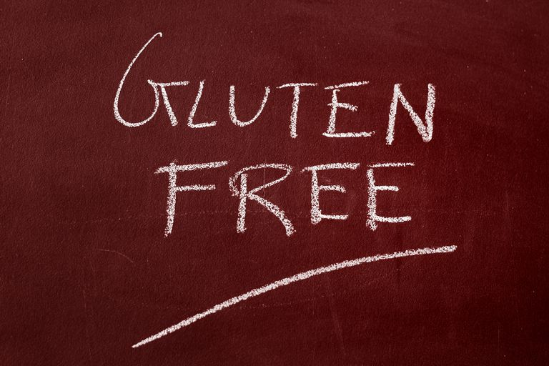 """Image of a sign saying """"gluten-free."""""""