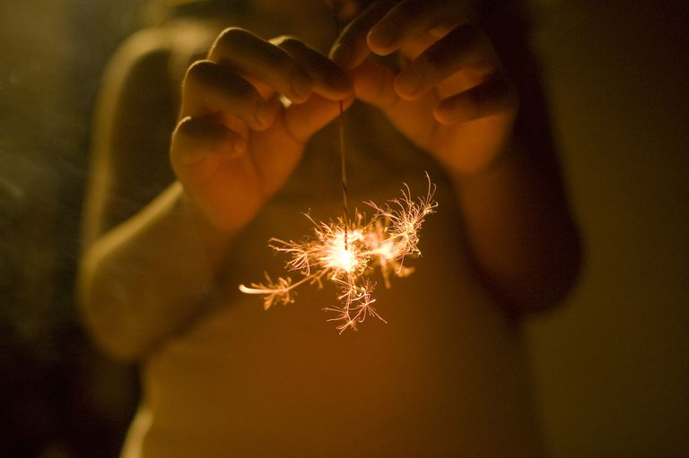 While you'll see magnesium used in a variety of different fireworks, one excellent example of their use is for making bright sparks in sparklers.