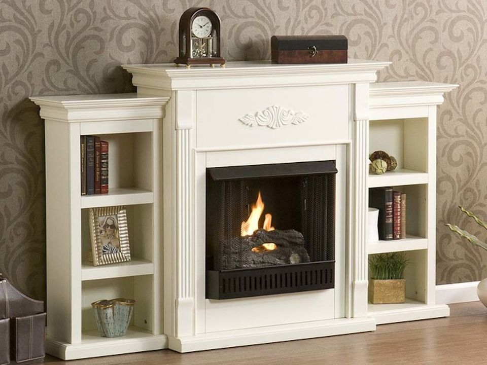 top mounted mountable arch gel copper black wall fireplace sei fuel