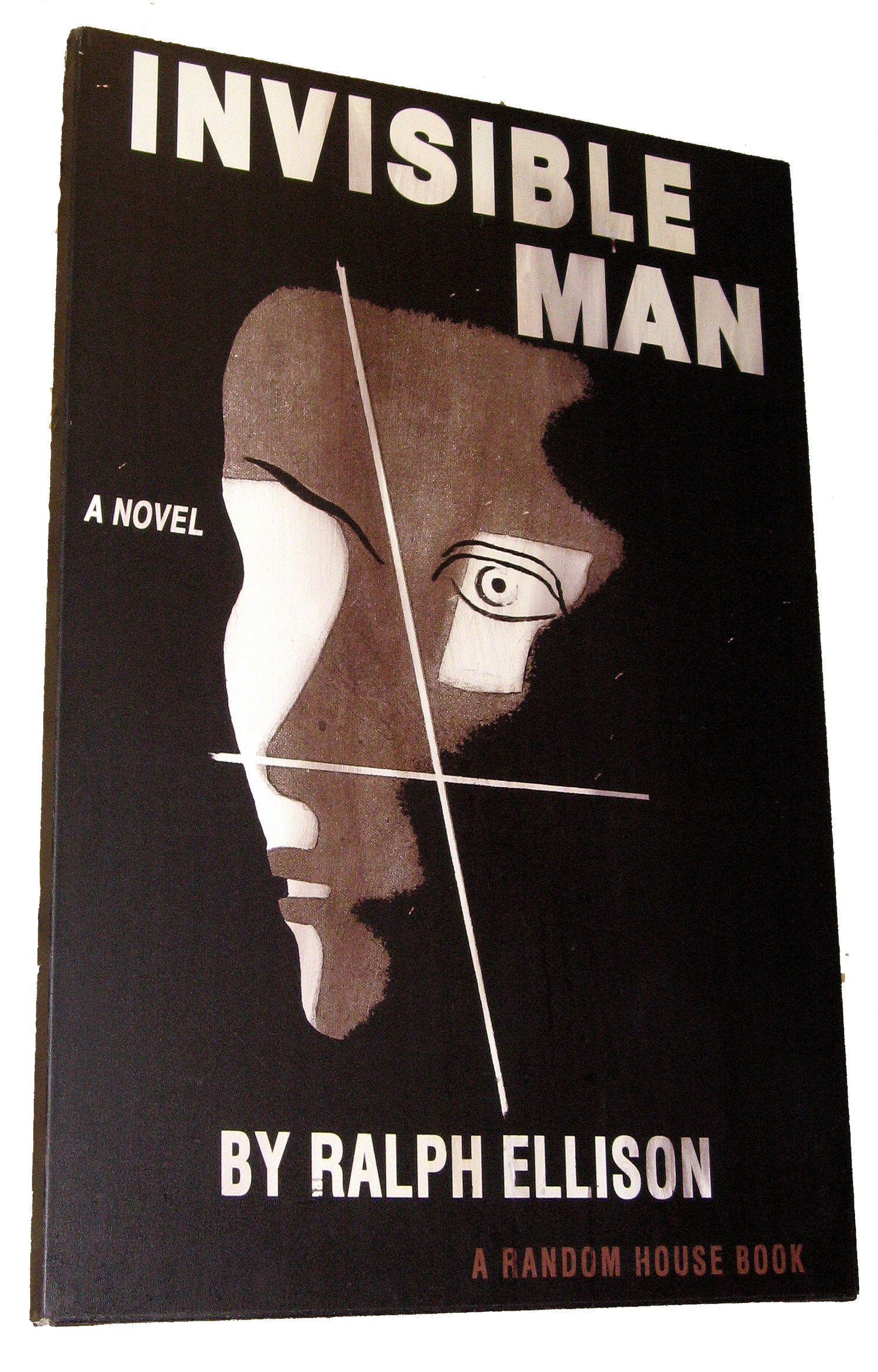 "an analysis of the symbolism in the novel invisible man by ralph ellison Looking for guidance, i picked up ralph ellison's 1952 novel, ""invisible man,""  which had been a fixture of the ""next to read"" pile on my."