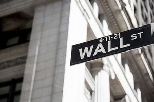 USA, New York, Manhattan, Wall street sign