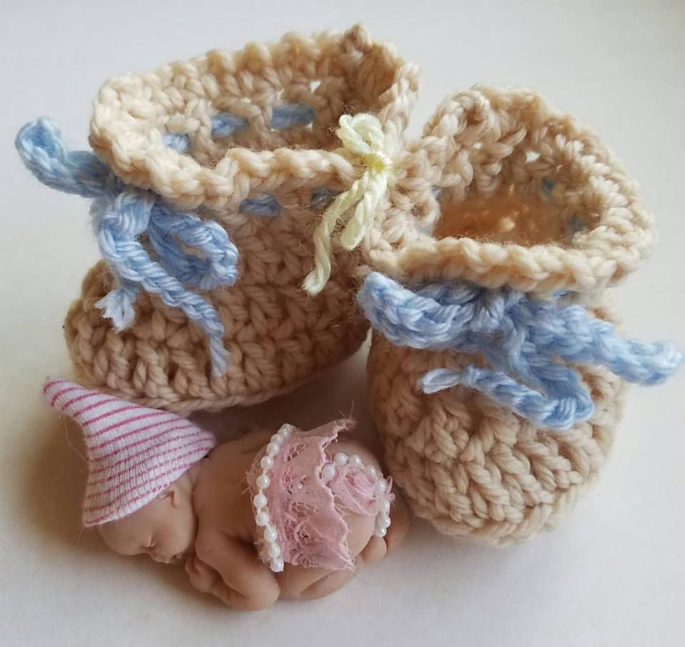 15 adorable baby bootie crochet patterns 30 minute crochet baby booties free pattern bankloansurffo Choice Image
