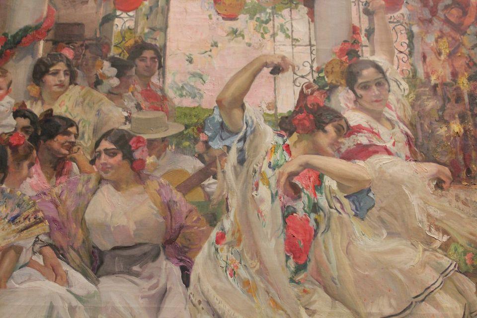 Seville dancers by Joaquin Sorolla