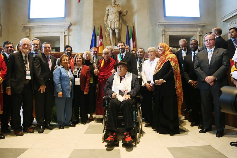 Nobel Peace Laureates at 14th World Summit, 2014, Rome