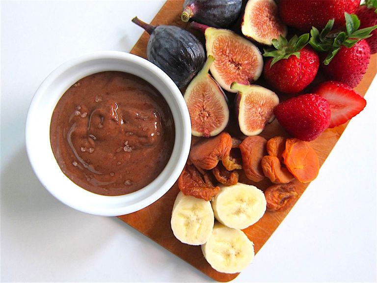 almond butter cocoa dip