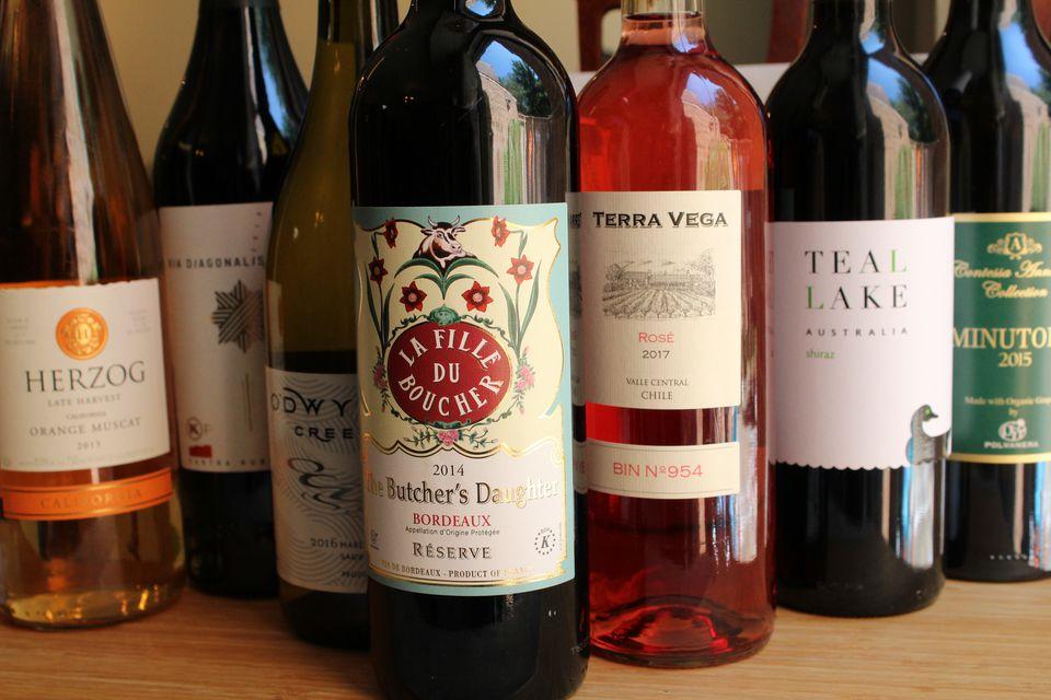 Selection of Kosher Wines