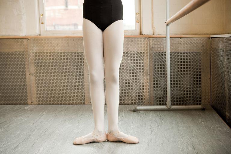Legs of a ballerina