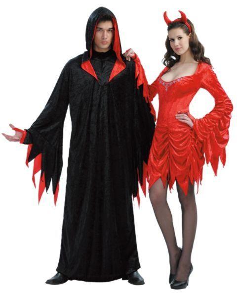 Devil and Succubus Costume