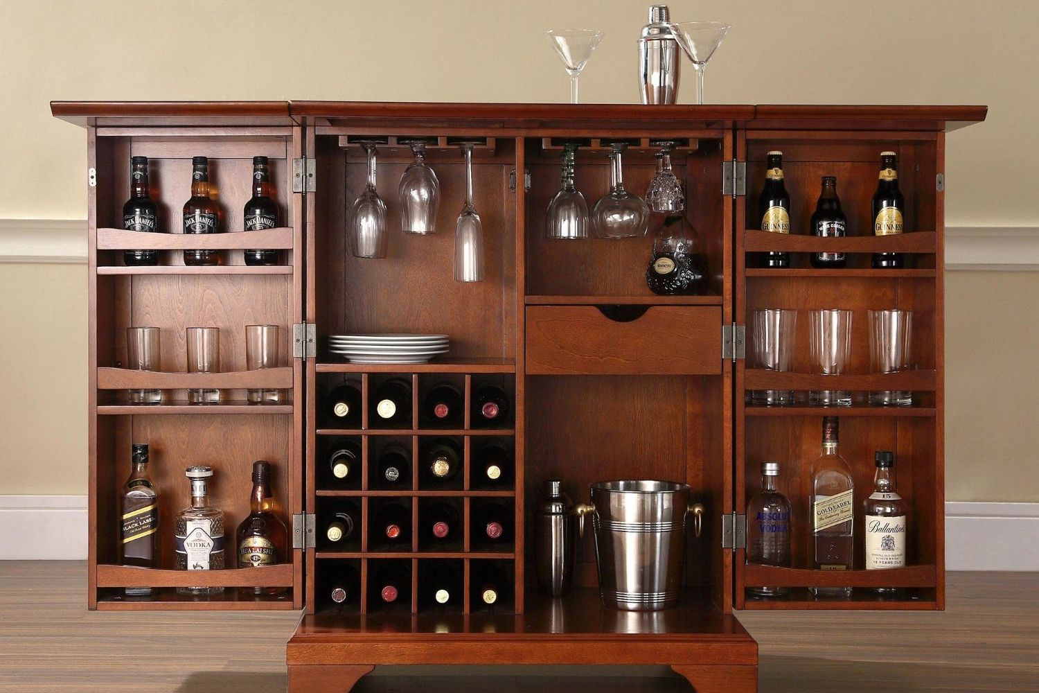 Great Portable or Hidden Home Bars