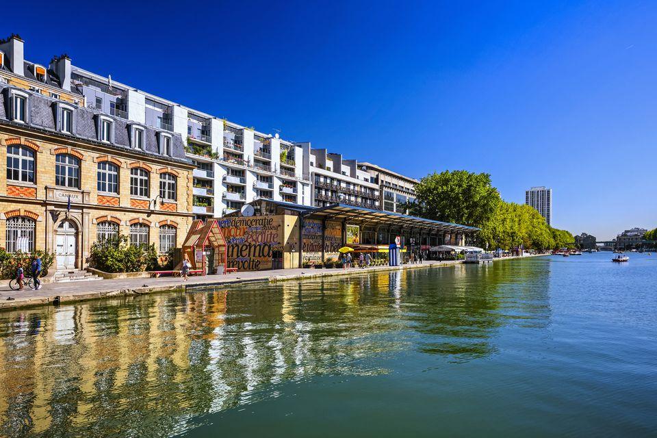 'Bassin de la Villette' in Paris