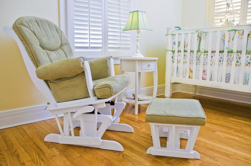 Glider in Nursery