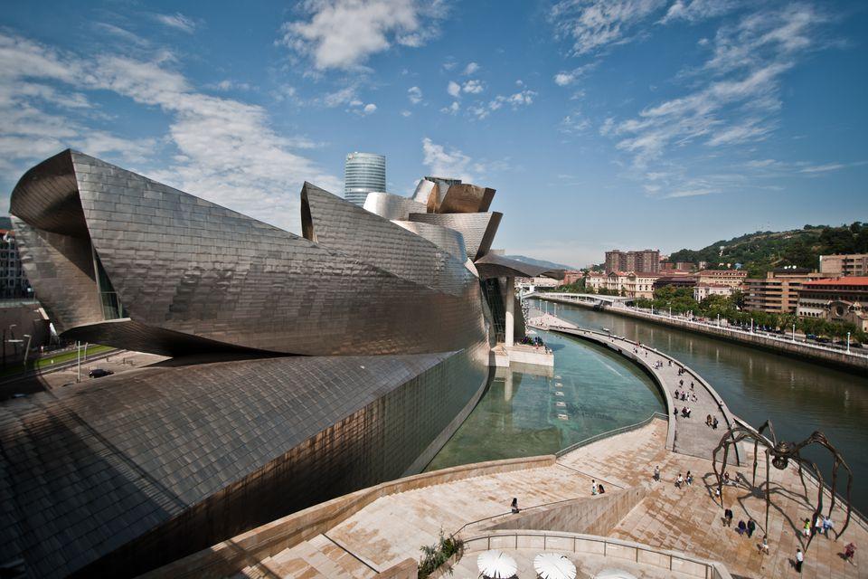 The Guggenheim in Bilbao