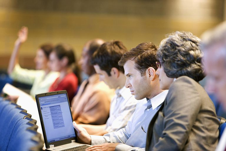 Laptop in class - Robert Nicholas - OJO Images - GettyImages-88689453