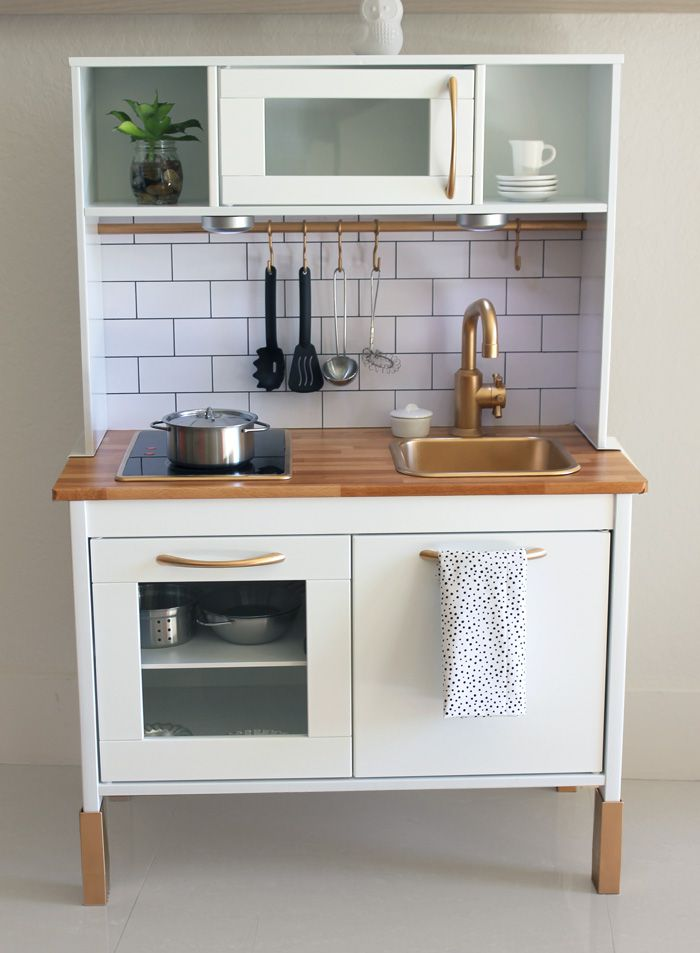 20 brilliant ikea hacks for kids - Ikea wooden kitchen playset ...