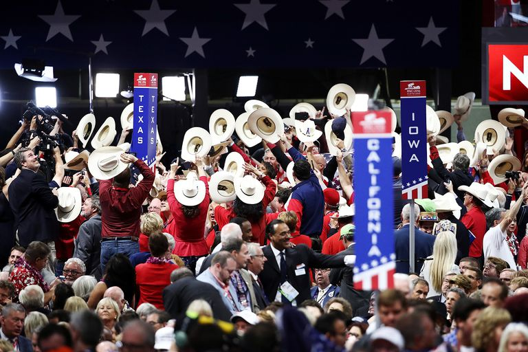 Texas delegates for Ted Cruz