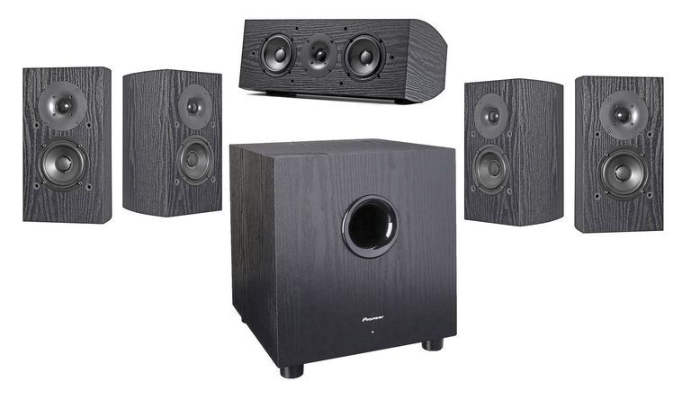 Pioneer SP-PK22BS Home Theater Speaker System