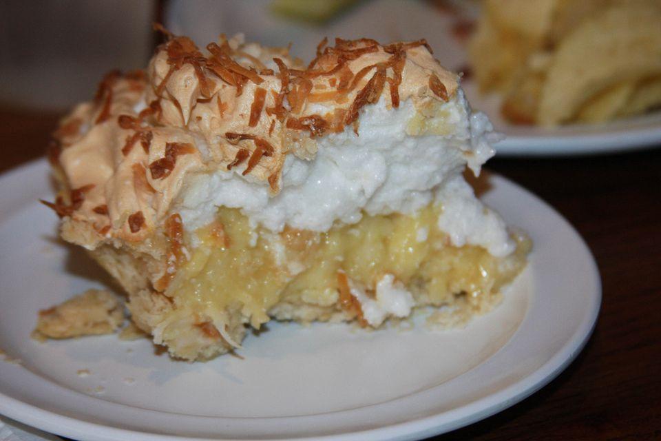 Charlotte's coconut creme pie