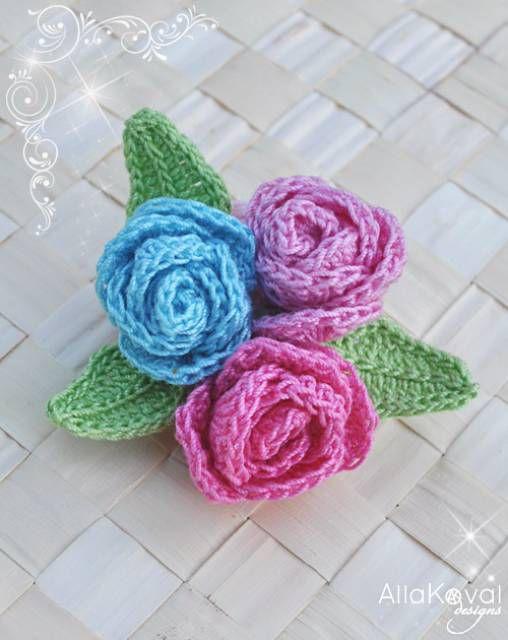 9 free crochet flower patterns crochet roses brooch free pattern dt1010fo