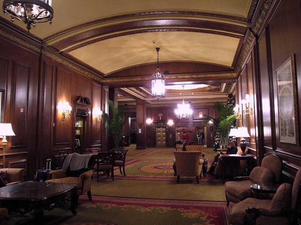 Omni Parker House Lobby