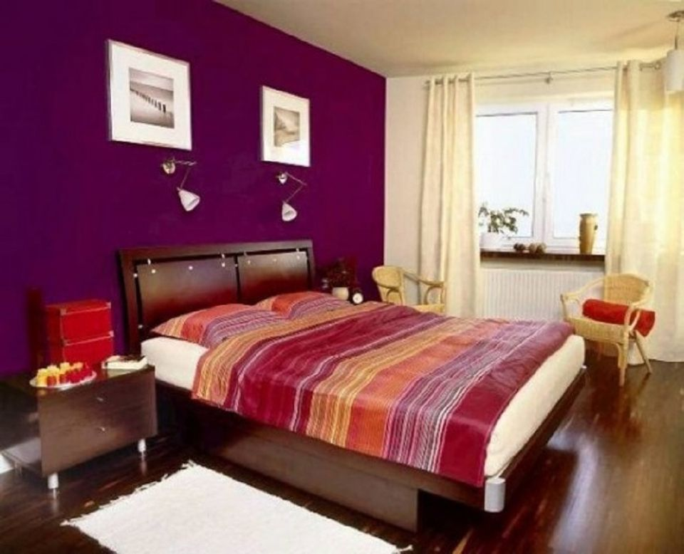 purple color bedroom designs here s the easiest bedroom color scheme 16858